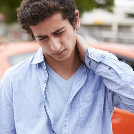 whiplash auto accident